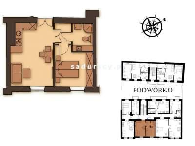 Mieszkania na Sprzedaż, Kraków, Kalwaryjska   36 mkw